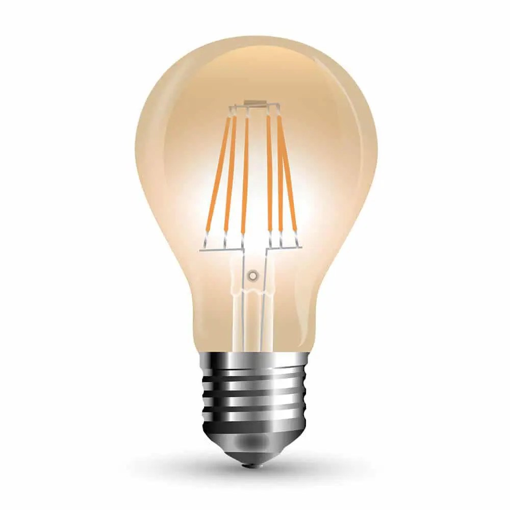 Led Bulb 10w A67 E27 Amber Cover 2200k Warm White Smart Lighting Industries