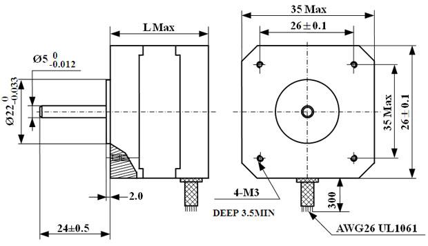 wiring stepper motors