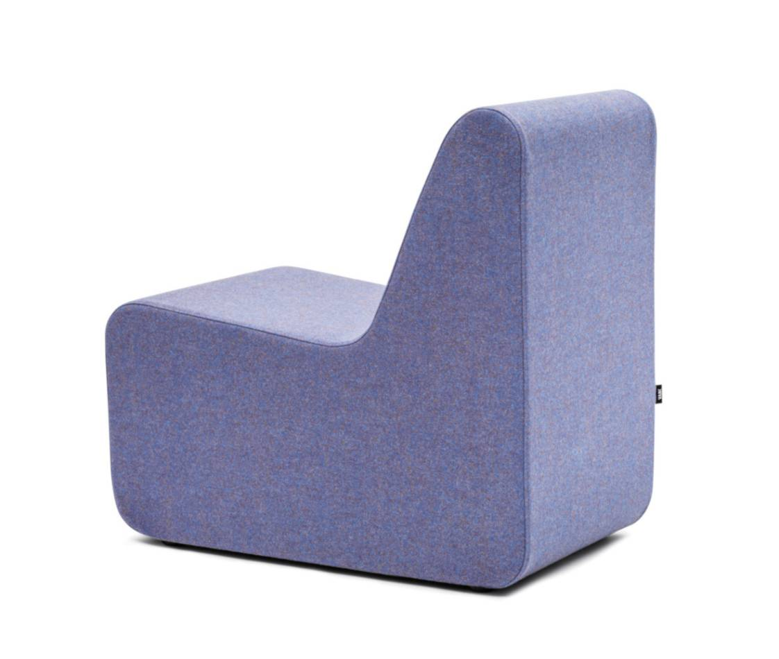 Sessel Blau Celoo Lounge Sessel Blau