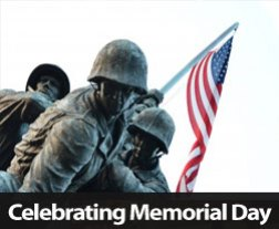 Preparing For Memorial Day 2013