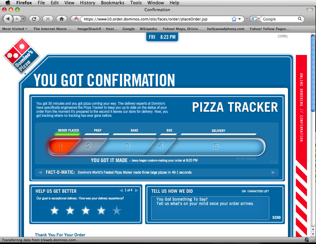 Jesus has returned domino s pizza canada has a promo code for online orders
