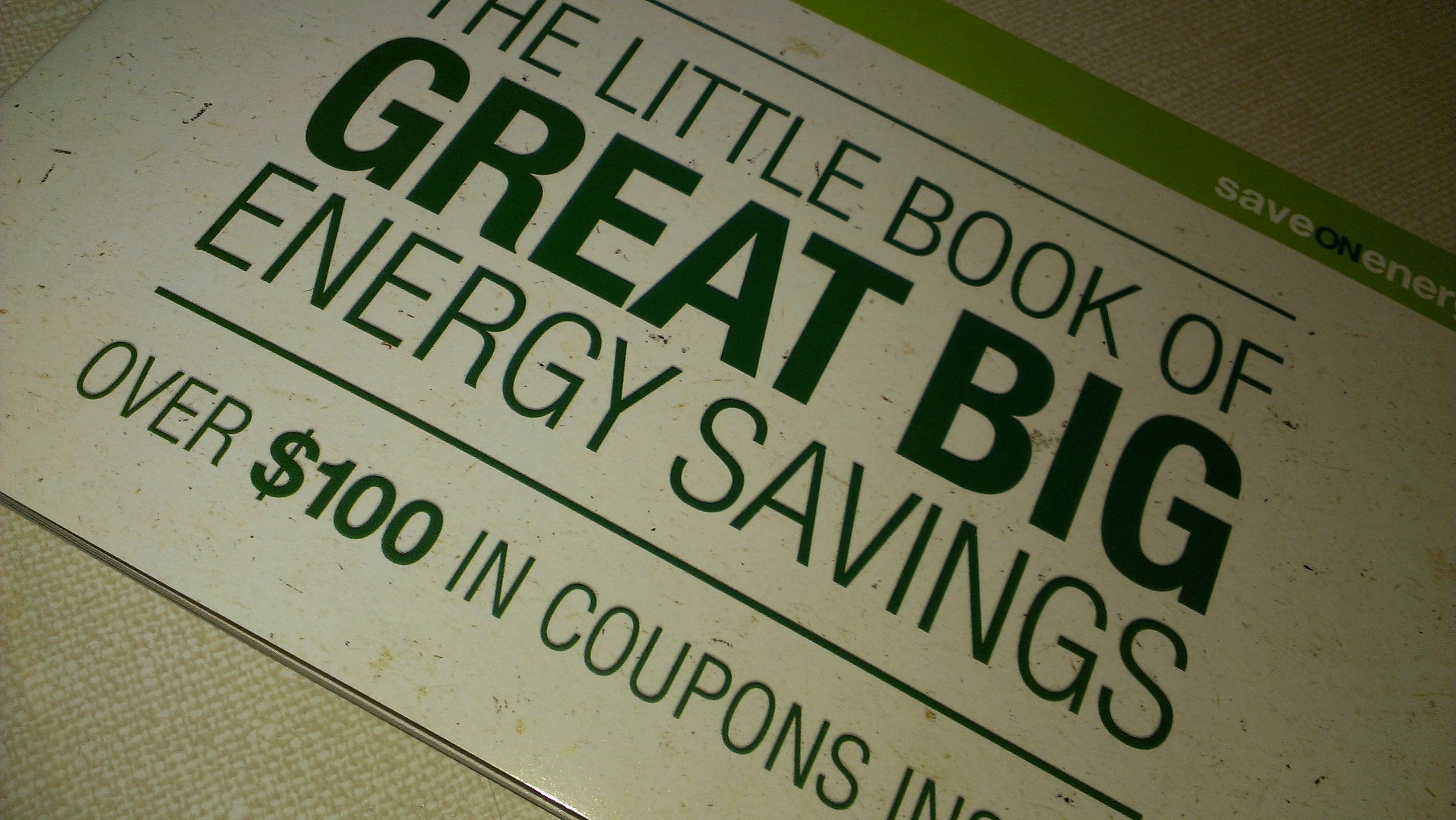 Saveonenergy Coupons Ontario Energy Savings Coupon Booklet Over 100 In
