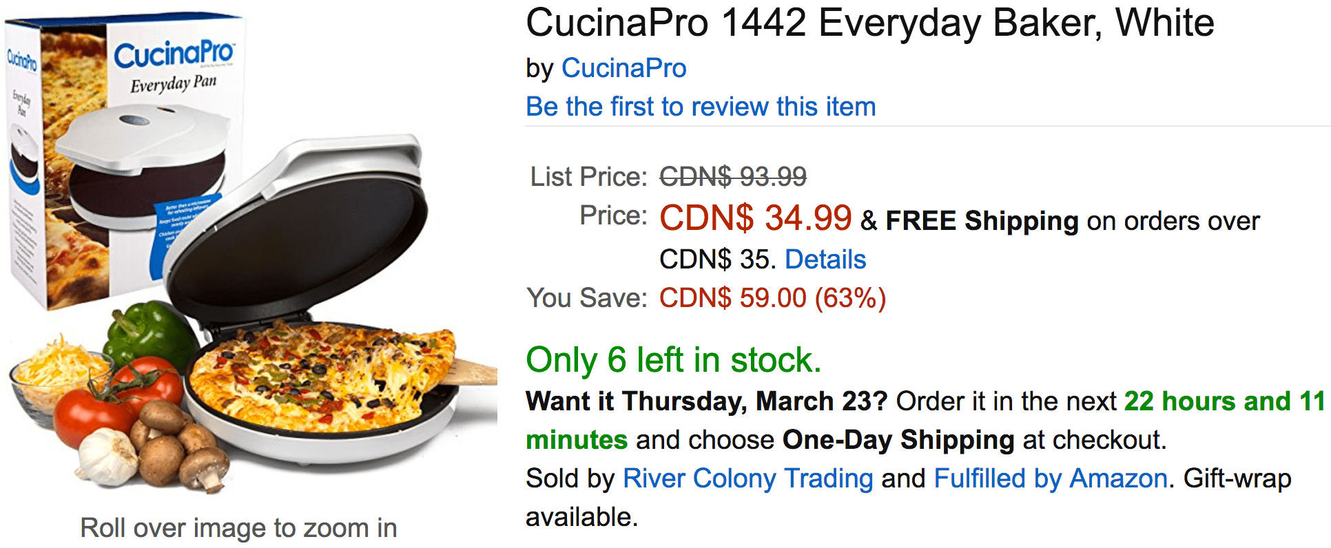 Amazon Cucinapro Amazon Canada Deals Save 63 On Intex Recreation River Run Ii