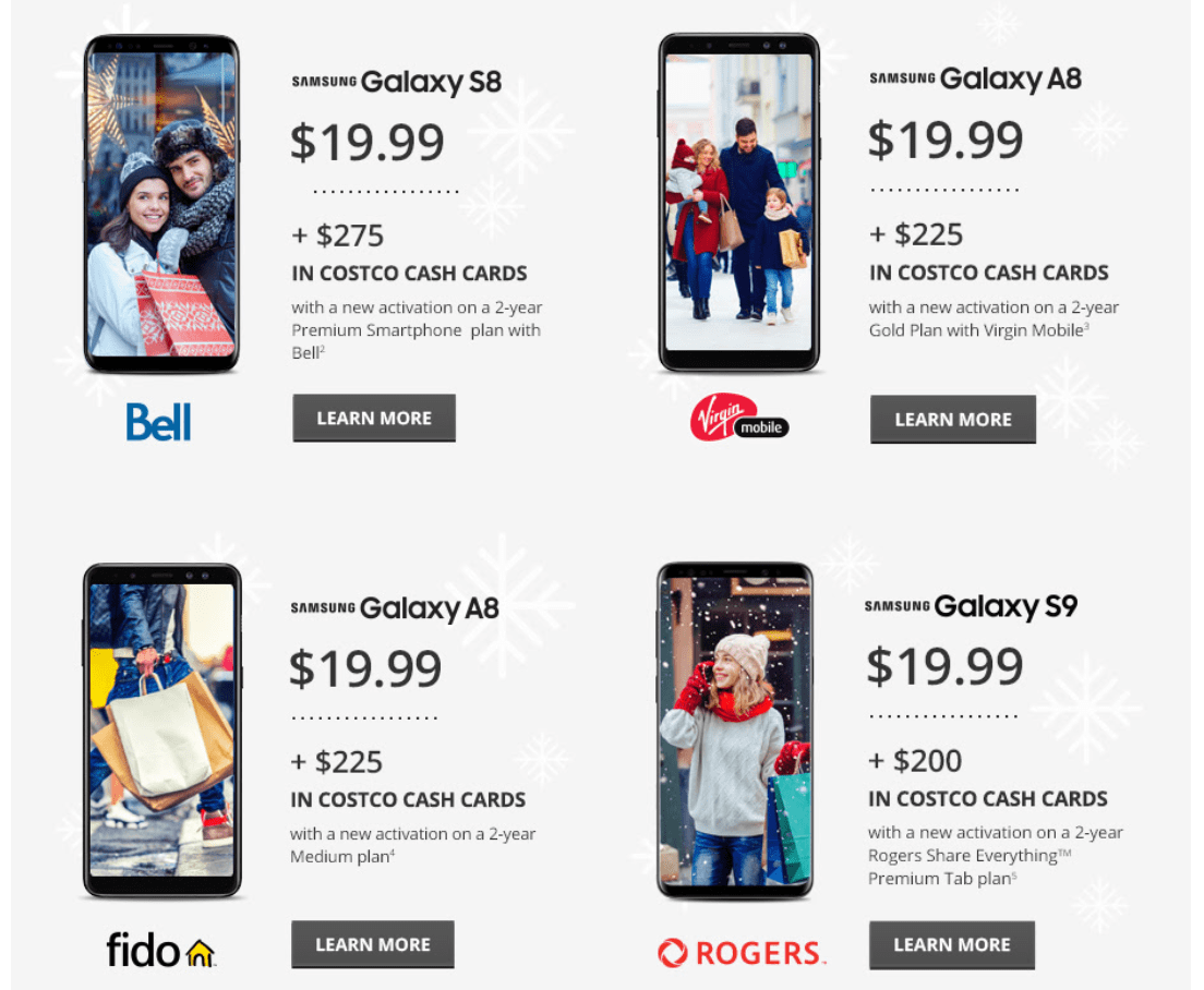 Black Friday Rogers Mobile Costco Canada Black Friday Smartphone Savings Canadian Freebies
