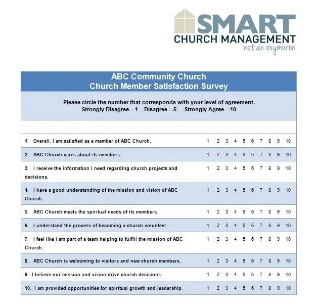 13 Sample Church Survey Questions \u2013 Smart Church Management