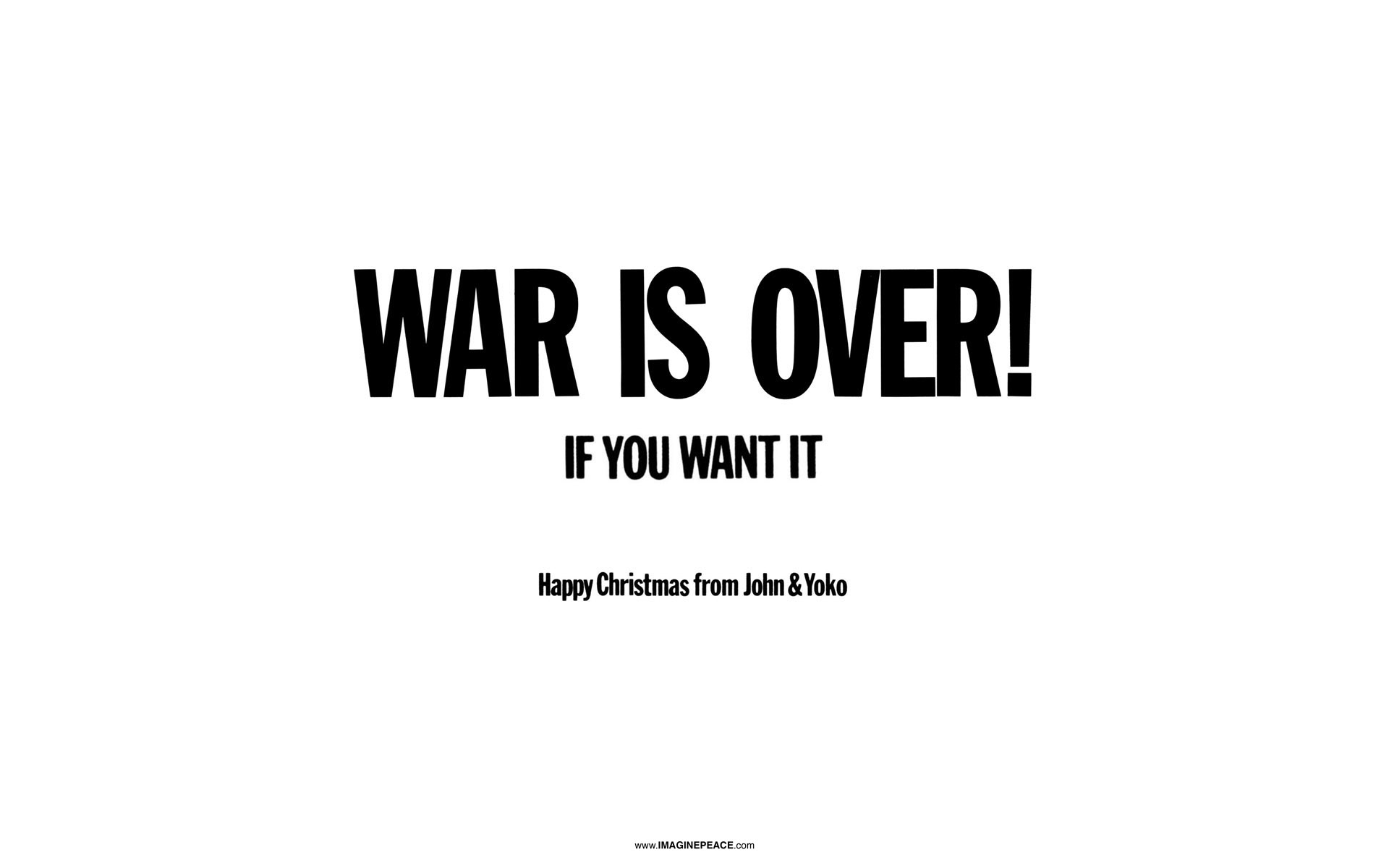 The Yellow Wallpaper Quotes About John Happy Christmas War Is Over By John Lennon Smart