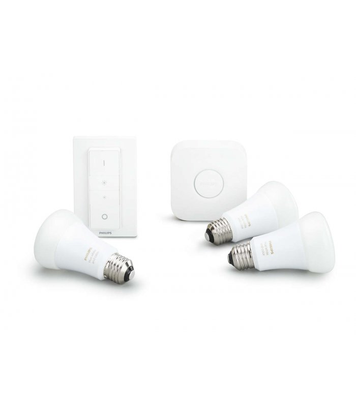 Philips Hue E27 Color Starter Kit - Richer Colors Philips Hue White And Color Ambiance Starter Kit 10w E27 - Philips