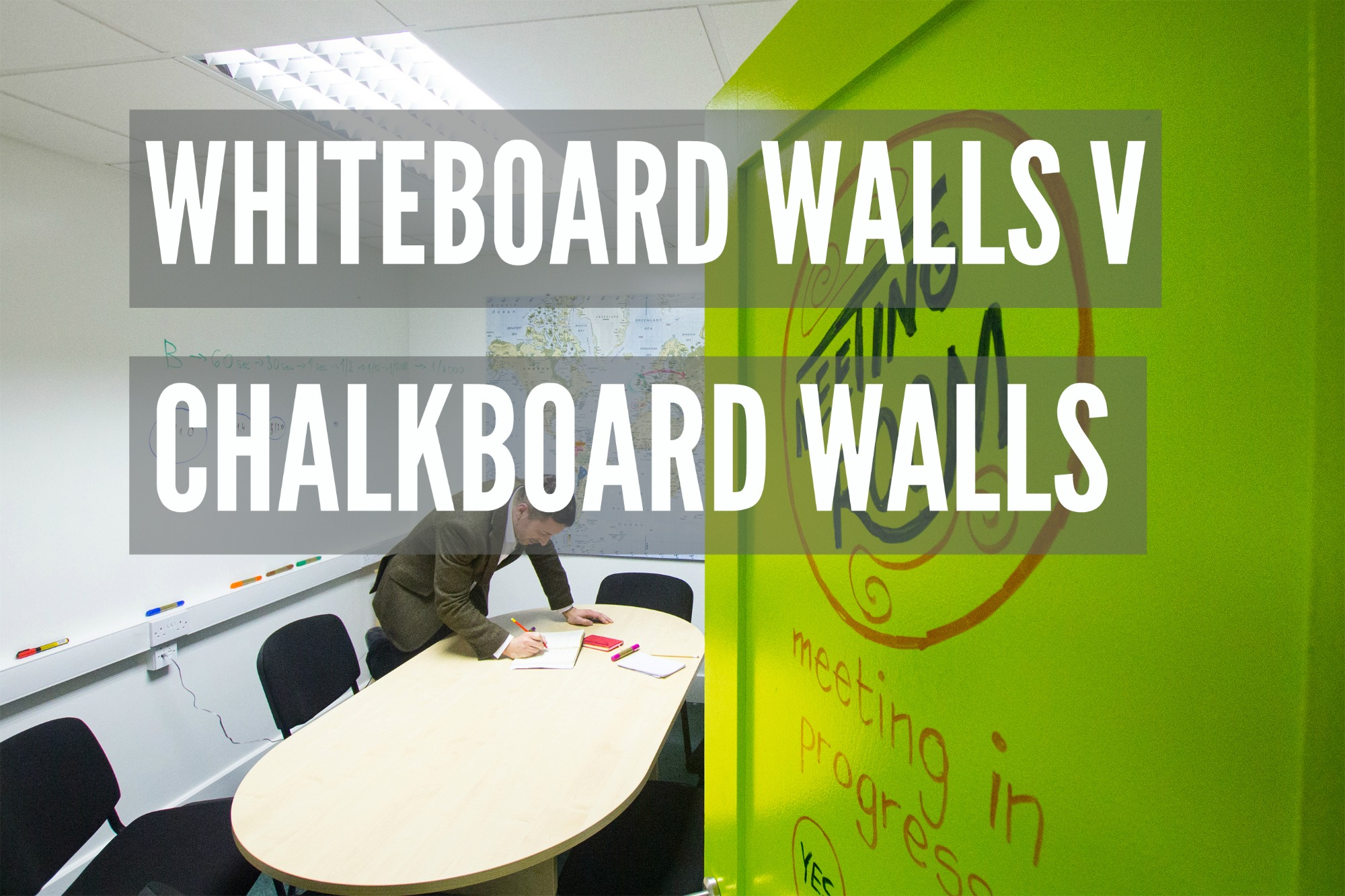 Turn A Wall Into A Whiteboard Whiteboard Walls V Chalkboard Walls Smarter Surfaces Blog