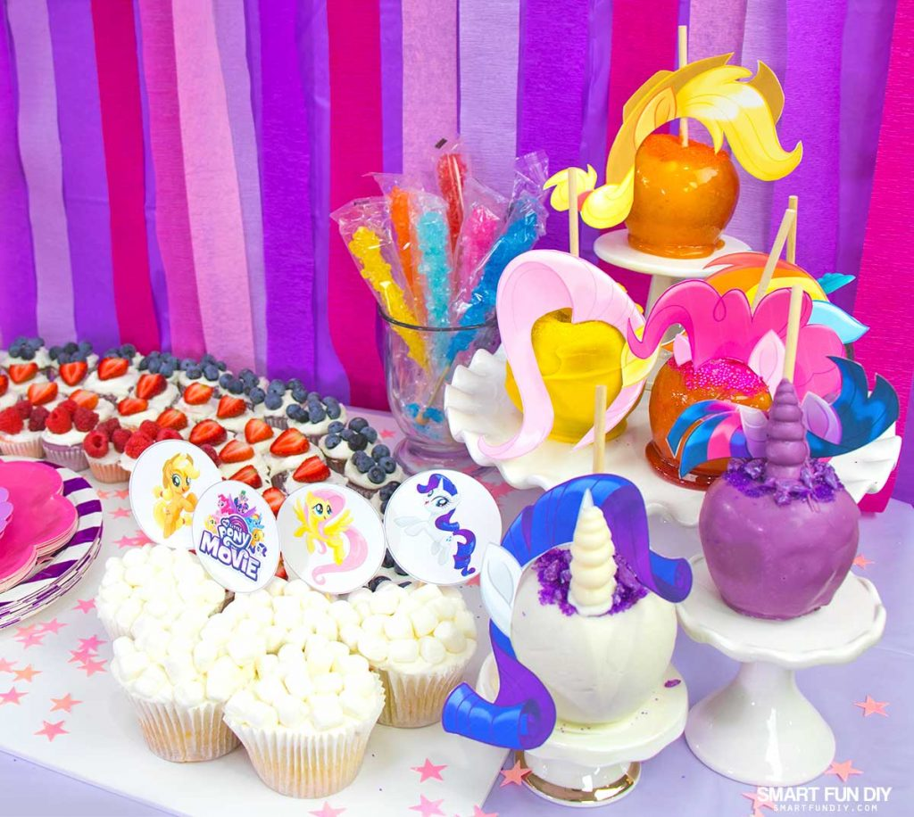 Diy Party 27 My Little Pony Party Ideas Smart Fun Diy