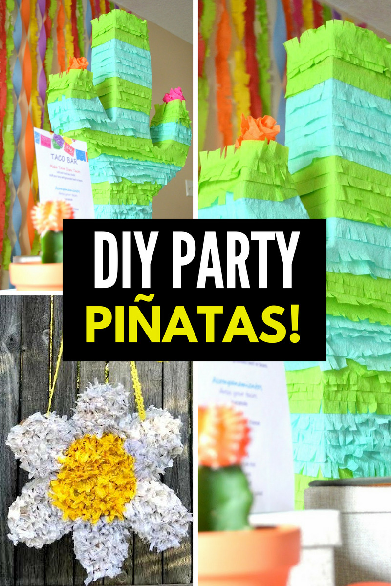 Diy Party 75 Super Fun And Creative Diy Piñata Ideas Smart Fun Diy