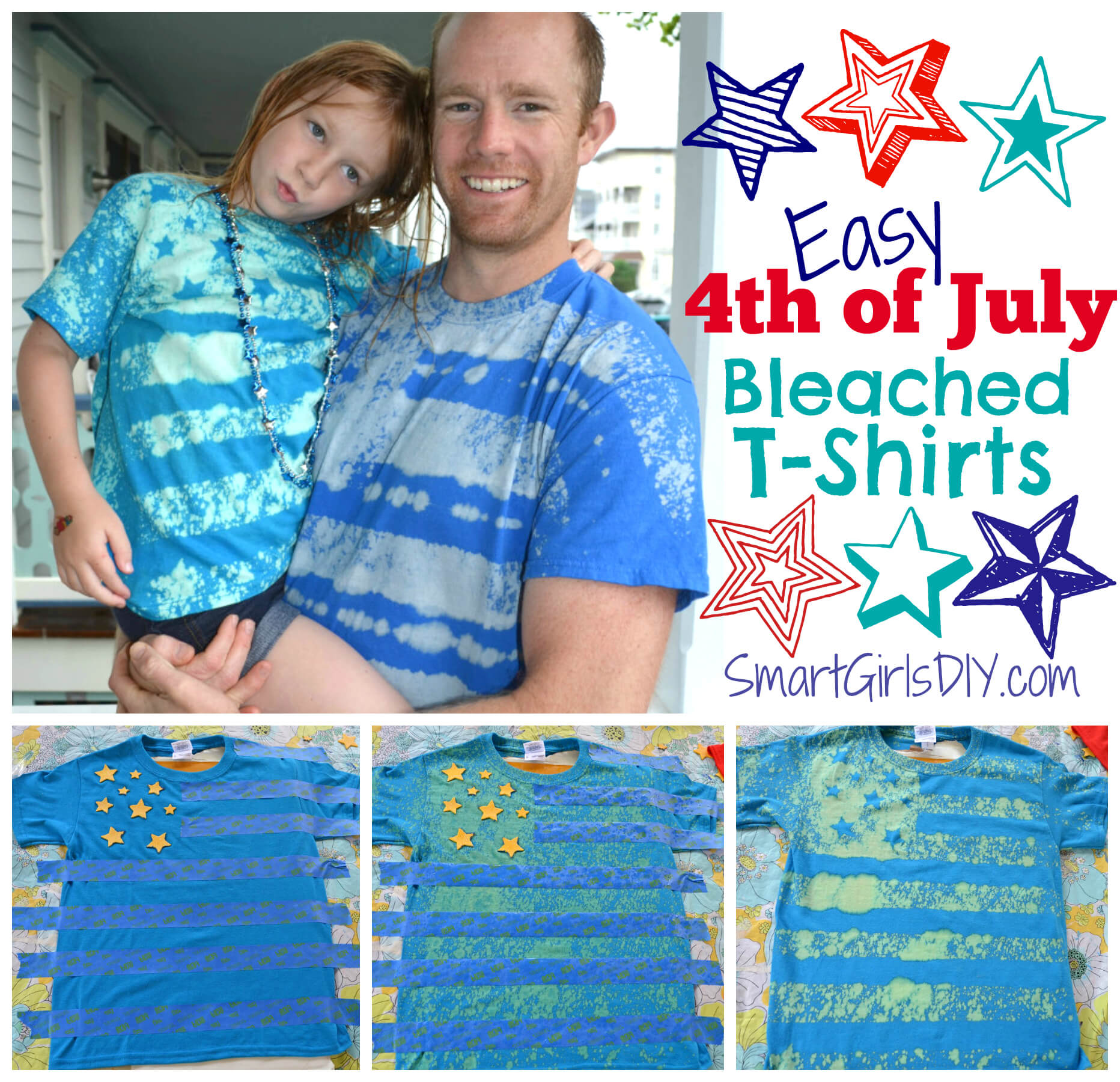 4th Of July T Shirts Super Easy Tutorial