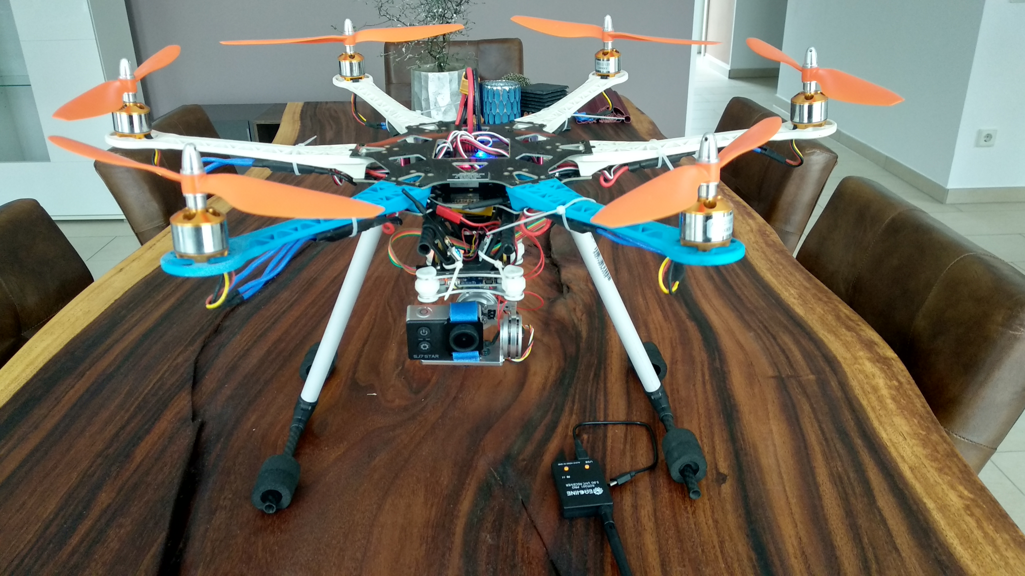 Drohne Selber Bauen Bausatz Selbstbau Eines Hexacopters Smarthome Internet Of Things