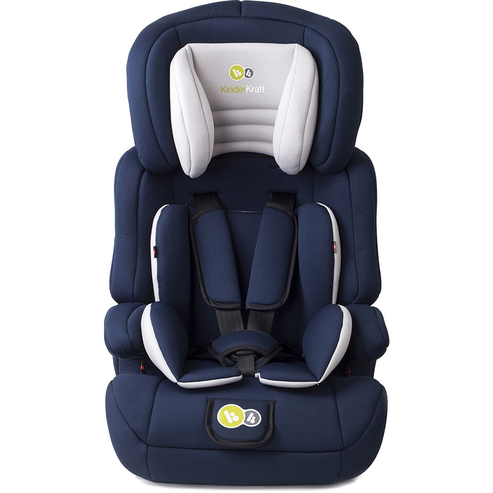 Isofix Scaun Auto Kinderkraft Comfort Up Group 1 2 3 Car Seat Navy Smart
