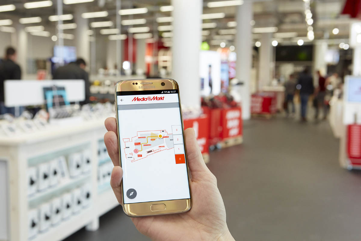 Media Markt Moviles Smartphone Libres Erster Media Markt Mit Indoor Navigationssystem Flagship