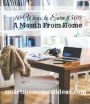 10 Ways to Earn $500 Monthly from Home