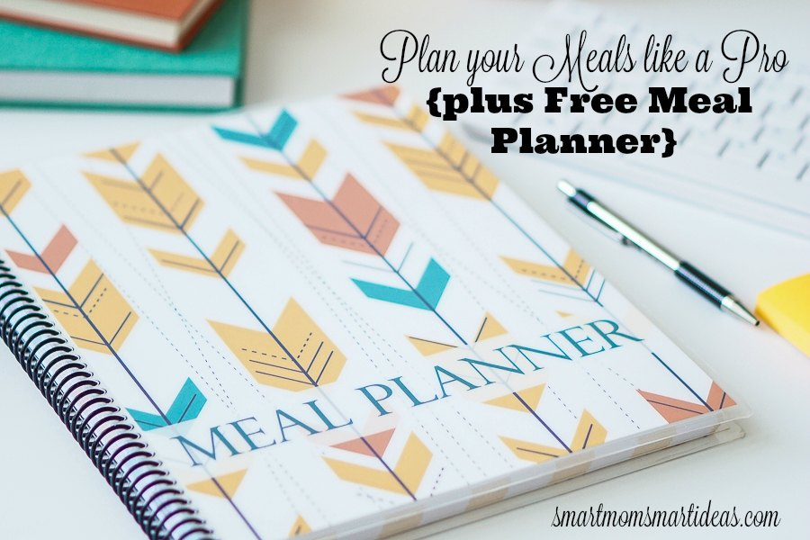 Meal Planning Like a Pro {and a FREE Meal Planner}