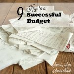 Do you struggle with your monthly family budget? Try these tips to family budget success.