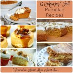 15 Pumpkin recipes - which one is the favorite at your house?