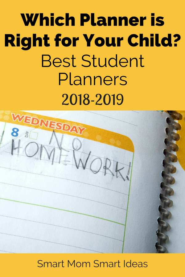Best Student Planners for 2018-2019 Simply Organized Smart Mom