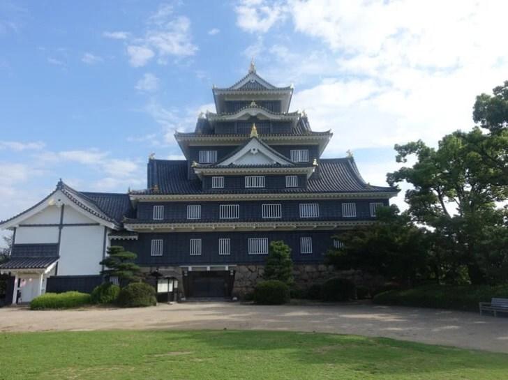 岡山城の写真