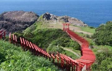 海に続く鳥居が神秘的な山口県の絶景スポット「元乃隅稲成神社」に行ってきた!