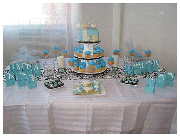Tiffany Themed Party Baby Shower Ideas