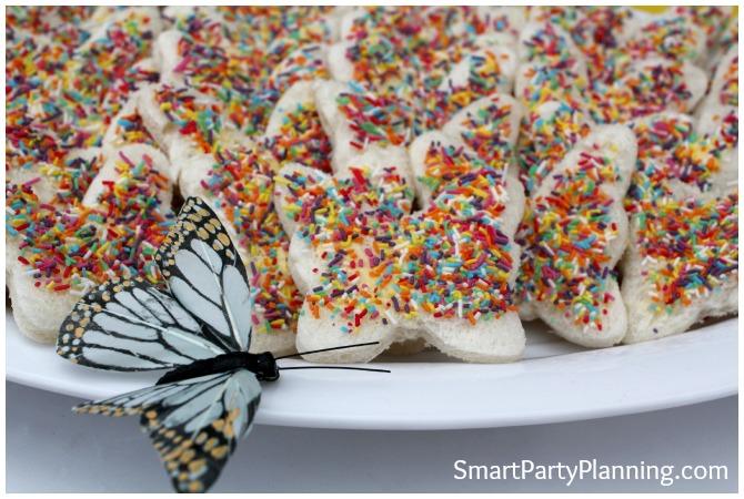 Butterfly Fairy Bread