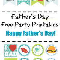 Father's Day Printables Banner
