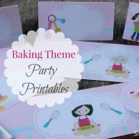 Bakers Theme Party Printables