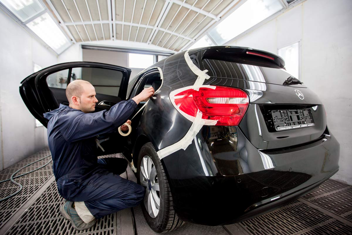 Auto Leasingrückläufer Auto Lackieren Hannover Smart Repair Center Hannover Arnum