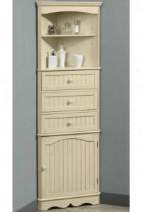 Bathroom Corner Linen Cabinets