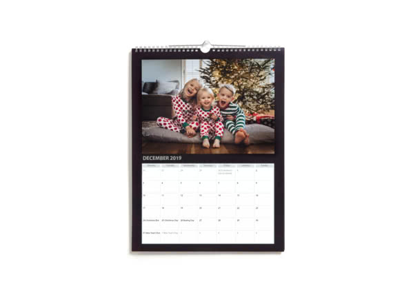 Personalised Calendars 2019 Photo Calendars  Diaries Photobox