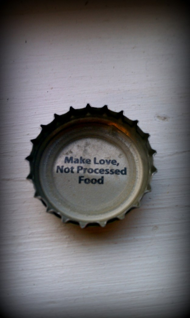 I heart this bottle cap