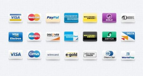 payment method icons setpayment method icons for ecommerce website 35 High Quality Free Ecommerce Icons