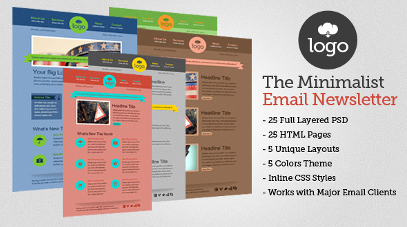 The Minimalist HTML Email Template