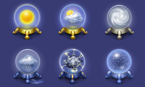 weather icon set 14 35 Free Weather Icon Set