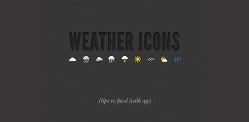 weather icon set 33 35 Free Weather Icon Set
