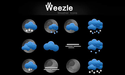 weather icon set 5 35 Free Weather Icon Set