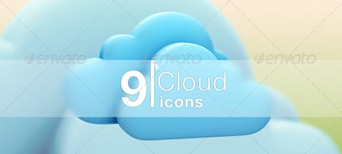 best premium cloud icons set 06 38 Best Premium Cloud and Forecast Icons Set