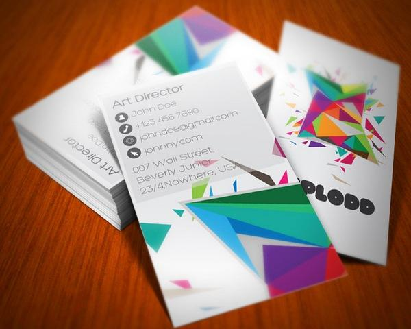 colorful business card inspiration 11 40 Colorful Business Cards Inspiration