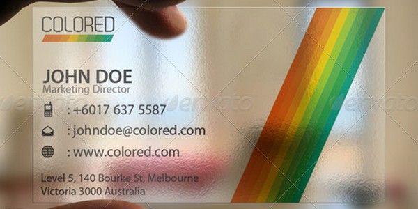 colorful business card inspiration 19 40 Colorful Business Cards Inspiration