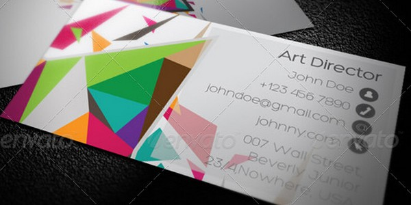 colorful business card inspiration 35 40 Colorful Business Cards Inspiration