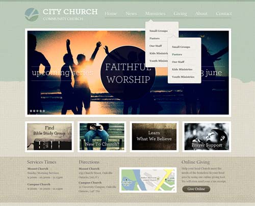 free and premium church wordpress themes micah 30 Free and Premium Church Wordpress Themes