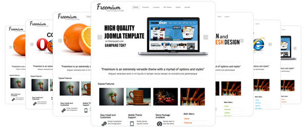freemium awasome free business and portfolio joomla template with premium quality Freemium Free Business and Portfolio Joomla Template with Premium Quality