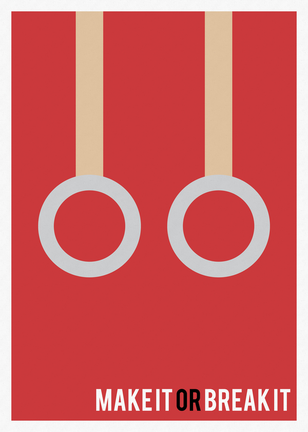 minimal tv shows posters 11 Minimal TV Shows Posters Inspiration by Marisa Passos