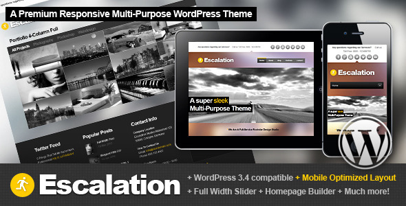 best business wordpress themes 16 25 Best Business WordPress Themes for August 2012