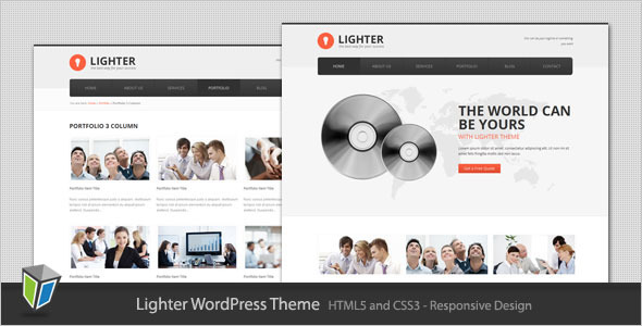best business wordpress themes 22 25 Best Business WordPress Themes for August 2012