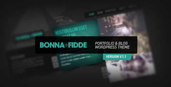 best portfolio wordpress themes 12 25 + Best Portfolio WordPress Themes for August 2012