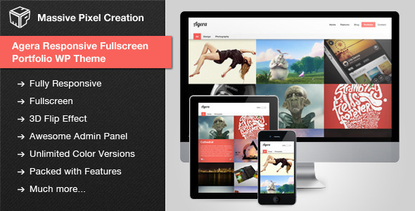 best portfolio wordpress themes 18 25 + Best Portfolio WordPress Themes for August 2012