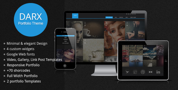 best portfolio wordpress themes 25 25 + Best Portfolio WordPress Themes for August 2012